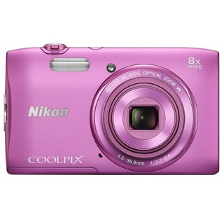 Nikon COOLPIX S3600 20.1MP Pink Digital Camera