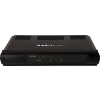 StarTech.com 5 Port Unmanaged Energy-Efficient Gigabit Ethernet Switc