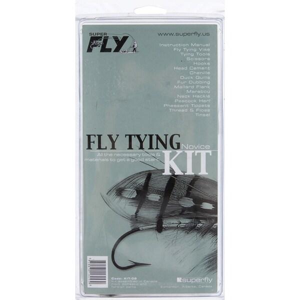 Superfly Novice Fly Tying Kit
