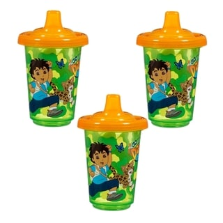 Munchkin Reusable Twist Tight Spill-proof Cups in Go Diego (3 Pack)