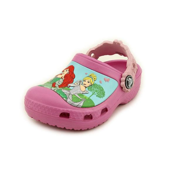 Crocs Girl (Toddler) 'CC Magical Day Princess' Synthetic Casual Shoes (Size 6 )