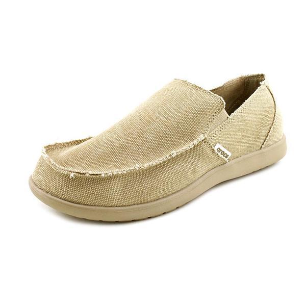Crocs Men's 'Santa Cruz Loafer' Canvas Casual Shoes