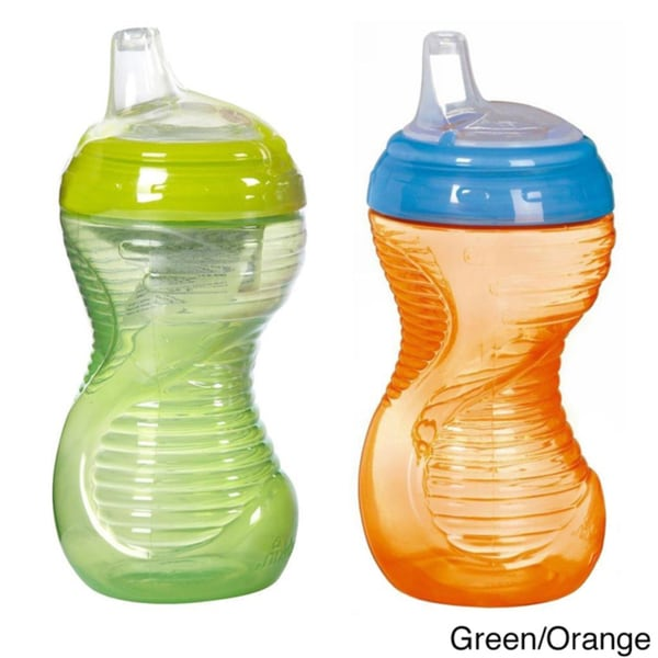 Munchkin Mighty Grip 10-ounce Sippy Cup (Pack of 2)