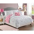 VCNY Chelsea 4-piece Reversible Comforter Set