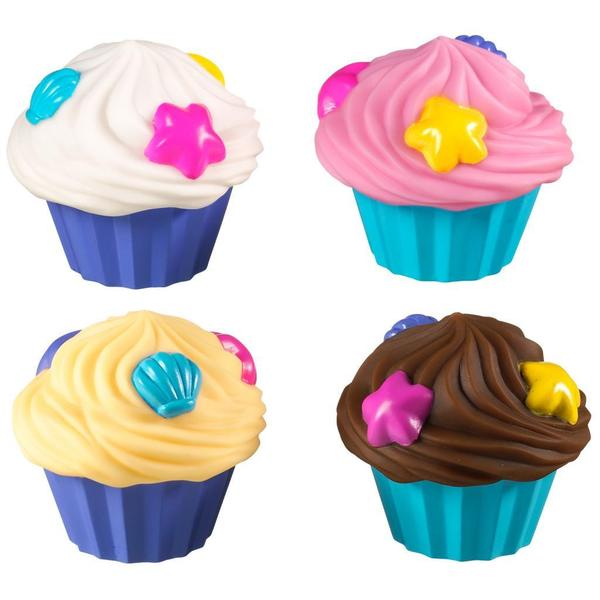 Munchkin Cupcake Bath Squirts (Pack of 4)