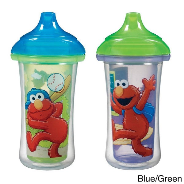 Munchkin Sesame Street Click Lock 9-ounce Insulated Sippy Cup (Pack of 2) 13187704