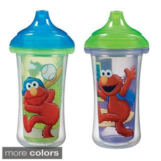 Munchkin Sesame Street Click Lock 9-ounce Insulated Sippy Cup (Pack of 2)