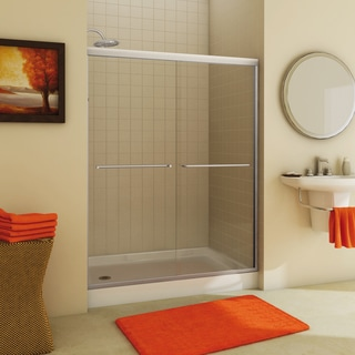 Tonik 2-panel Frameless Shower Door