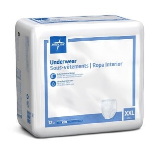 Medline Protection Plus Classic Protective Underwear