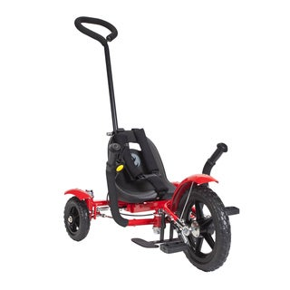 Mobo Total Tot The Roll-to-Ride Three Wheeled Red Cruiser