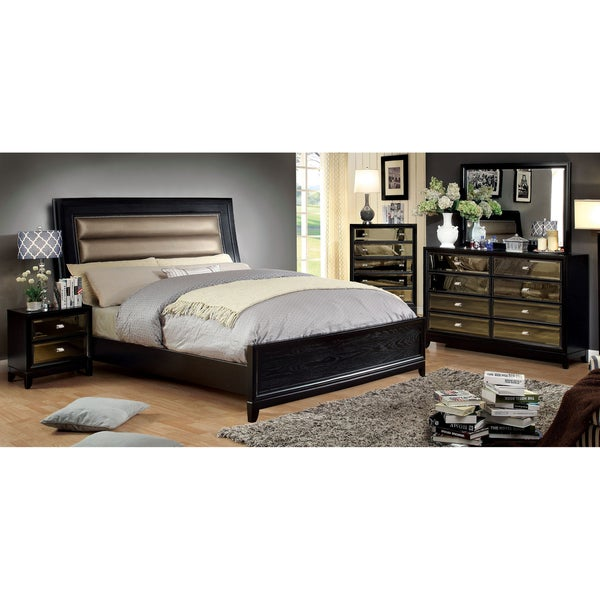 Furniture of America 4 piece Bedroom Set