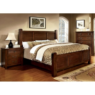 Furniture of America Erindale Brown Cherry Platform Bed