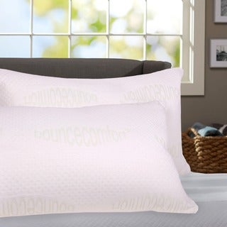 Luxurious Queen-size Memory Foam Pillows (Set of 2)