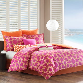 Echo Design Catalina Cotton 3-piece Comforter Set
