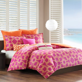 Echo Catalina Cotton 3-piece Duvet Cover Set