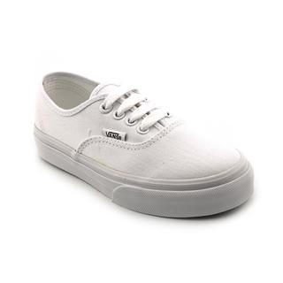 Vans Girl (Youth) 'Authentic Classic' Basic Textile Athletic Shoe (Size 13 )