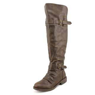 Diba Women's 'Combat' Faux Leather Boots