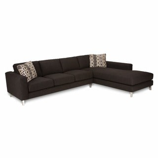 JAR Designs Arnold Ebony Chaise Sectional