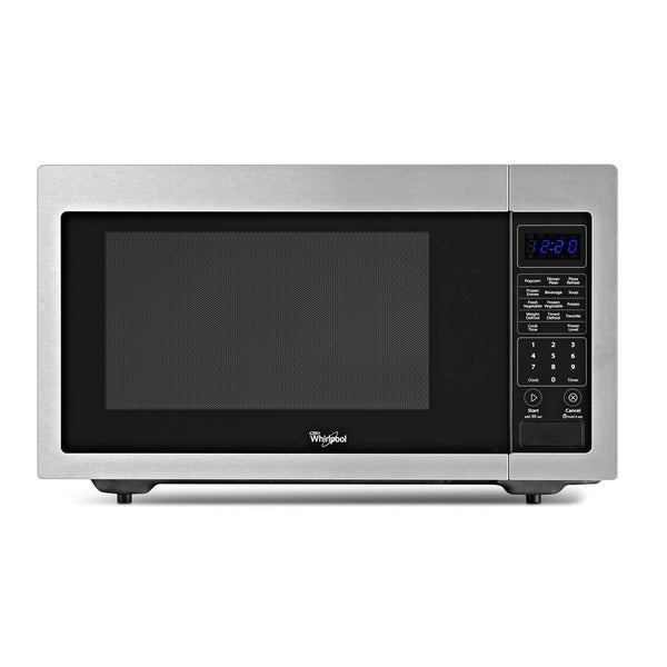 Whirlpool 1.6-cubic foot Stainless Steel Countertop Microwave