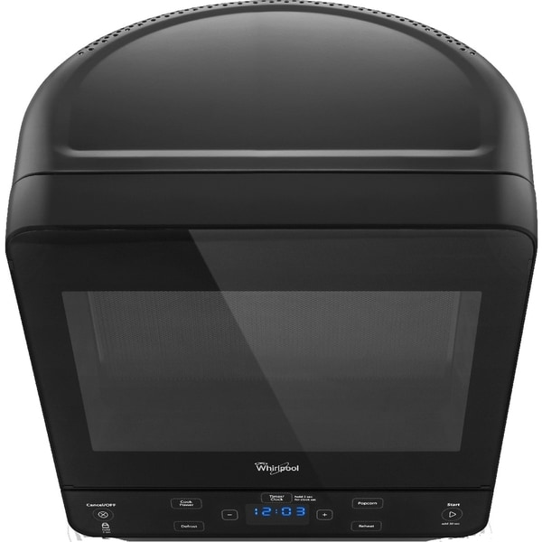 Whirlpool Black 0.5-cubic foot Countertop Microwave