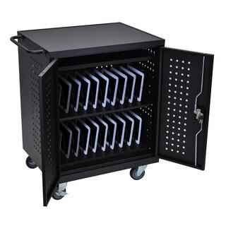 Luxor Black 42-slot Tablet/ Chromebook Computer Charging Station