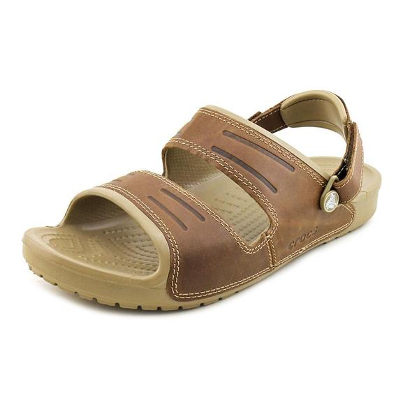 Crocs Men's 'Yukon Two Strap Sandal' Synthetic Sandals