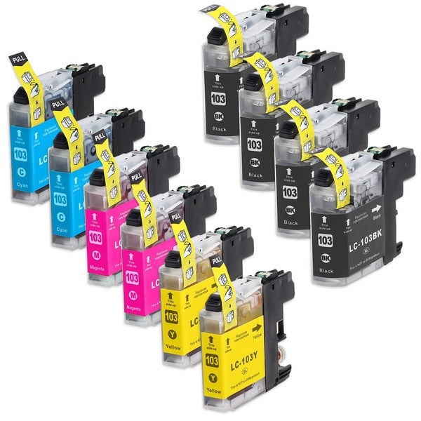 INKUTEN Compatible Brother High Yield Ink Cartridges (Pack of 10)