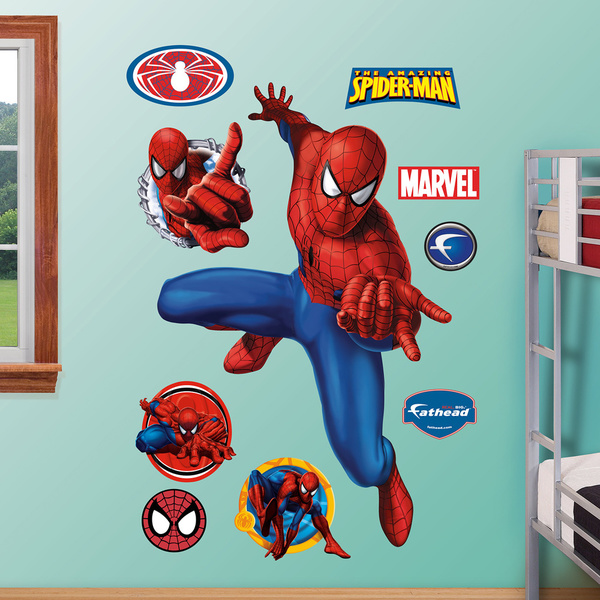 Fathead Amazing Spiderman Webslinger Wall Decals