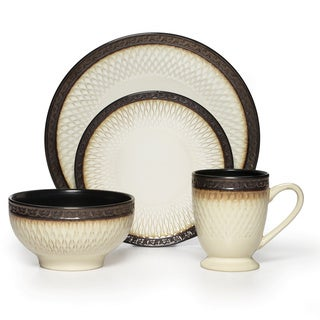 Gourmet Basics Sorento 16-piece Dinnerware Set
