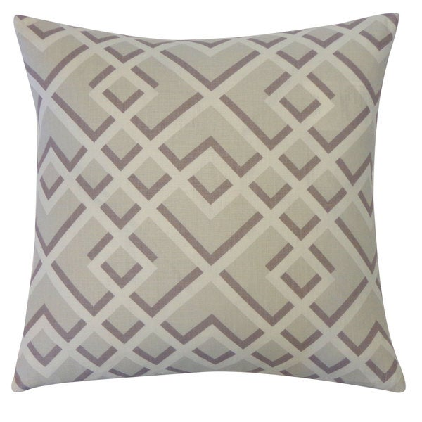 Flexi Grey Throw Pillow
