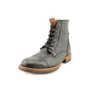 Steve Madden Men's 'Nathen' Leather Boots (Size 13 )
