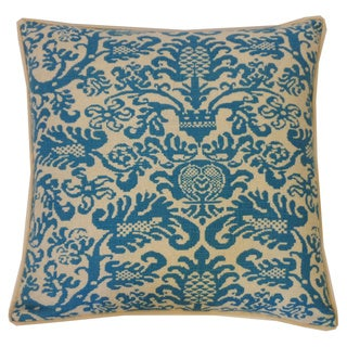 Jiti Castle Turquoise 20 x 20-inch Throw Pillow