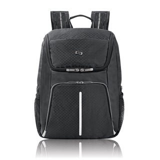 Solo Active 15.6-inch Black Laptop Backpack