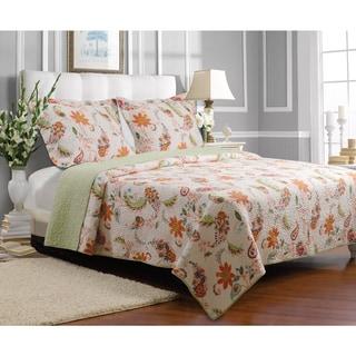 Barcelona Cotton 3-piece Quilt Set