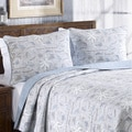 Tommy Bahama Island Song Reversible Cotton 3-piece Quilt Set
