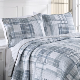 Nautica Glen Ridge Reversible Cotton 3-piece Quilt Set