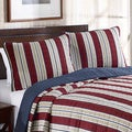 Nautica Grand Port Reversible Cotton 3-piece Quilt Set