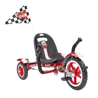 "Mobo Tot Disney Pixar Cars 'Lightning McQueen': A Toddler's Ergonomic Three Wheeled Cruiser (12"")"