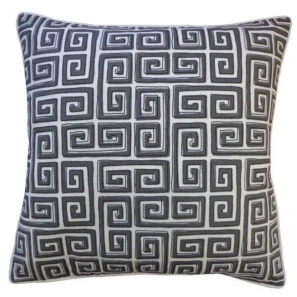 20 x 20-inch Coil Grey Throw Pillow