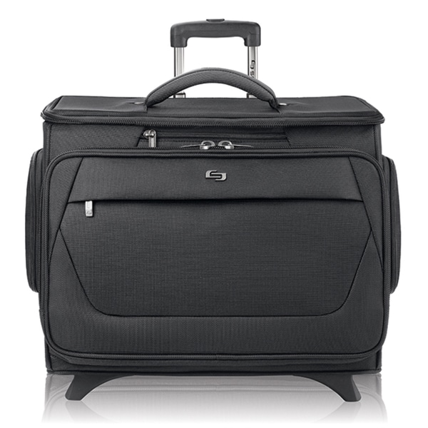 Solo Classic Rolling 15.6-inch Laptop Catalog Case with Tablet Compartment (As Is Item)