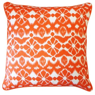 Trevol Orange Throw Pillow