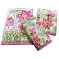 Dena Home Ikat Collection Printed 3-piece Towel Set