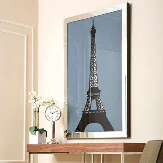 Abbyson Living Paris Eiffel Tower Crystal Wall Mirror