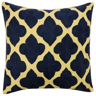 Maharani Blue Throw Pillow