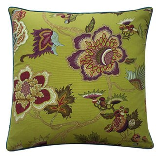 Jazmine Plum Throw Pillow