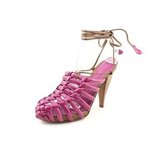 Bottega Veneta Women's 'Scarpa Pelle' Leather Sandals (Size 10 )