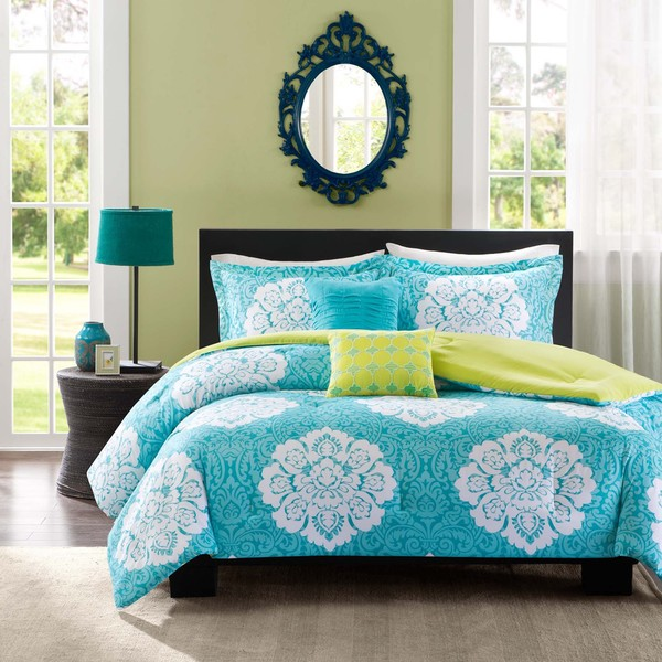 Intelligent Design Liliana 5-piece Comforter Set with Two Decorative Pillows (As Is Item)
