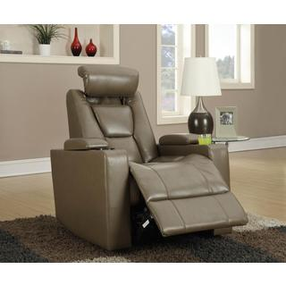 Kayden Acorn Power Theater Seat Recliner
