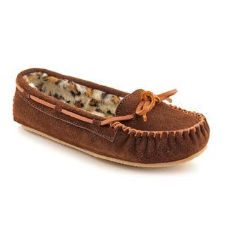 Minnetonka Women's 'Kayla Slipper II' Leather Casual Shoes