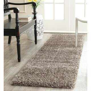 Safavieh Milan Shag Grey Rug (2' x 10')